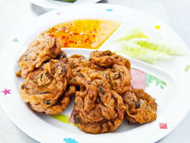 Fried Fish Cakes. Thai Food Royalty Free Stock Photo