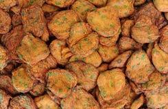Fried Fish Cakes Thai Food Stock Photo