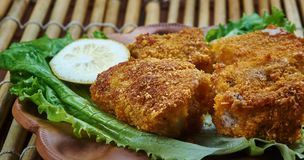 Fried Fish créole photo stock