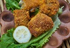 Fried Fish créole images stock