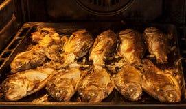 Fried fish crucian Royalty Free Stock Photo