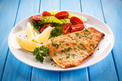 Free Fried Fish Fillet Royalty Free Stock Image - 82658226