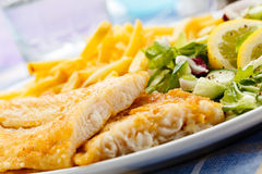 Fried fish fillet Royalty Free Stock Photography