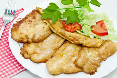 Fried fish fillets Stock Photo