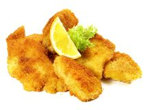 Fried Fish Nuggets stock images