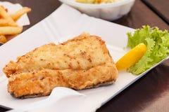 Fried fish. Stock Photos