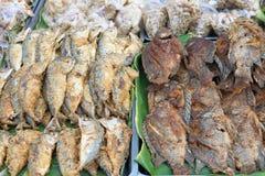 Fried Fish profond Photographie stock libre de droits