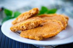 Fried fish roe Royalty Free Stock Photos