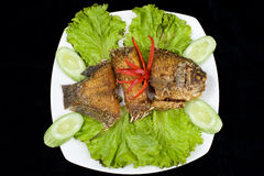 Fried Fish Seafood Royalty Free Stock Photo