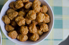 Fried fish and shrimp ball Stock Photography