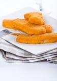 Fried fish sticks. Royalty Free Stock Photo