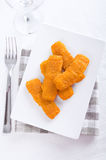 Fried fish sticks. Royalty Free Stock Photo