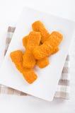 Fried fish sticks. Royalty Free Stock Image