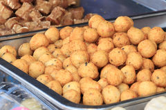 Fried Fishball Royalty Free Stock Image