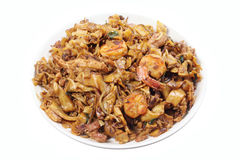 Fried Flat Noodle Royalty Free Stock Photos