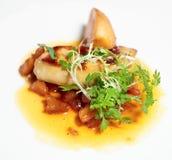 Fried Foie Gras Stock Images
