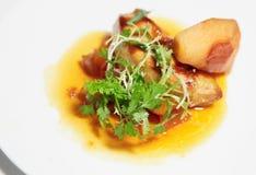 Fried foie gras Royalty Free Stock Photo