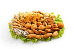 Fried Food Royalty Free Stock Photography