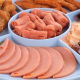 Fried food is Thai food. Close up stock images