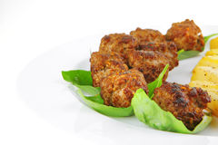 Fried french cutlets Royalty Free Stock Photography