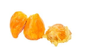 Fried and Fresh Chempedak Fruit III Royalty Free Stock Photos