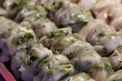 Fried Garlic Chives imagens de stock