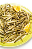 Fried gianchetti Stock Images