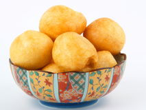 Fried gluten ball Stock Photo