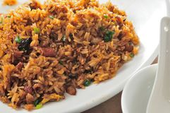 Fried Glutinous Rice Stock Photography