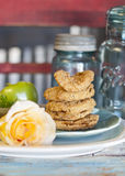 Fried Green Tomatoes Stockbild