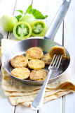 Fried green tomatoes Stock Image