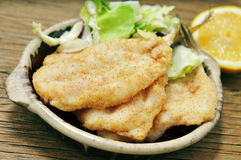 Fried hake Stock Image