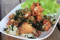 Fried Hot Chicken Wings Imagen de archivo