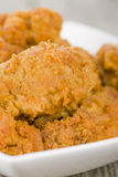 Fried Hot Chicken Wings Stock Images