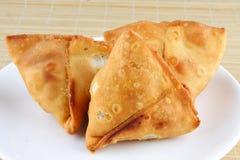 Fried Indian Samosa Stock Photography