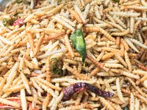Fried insects meal worms Stock Photos