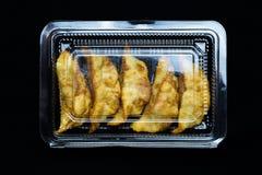 Fried Japanese-dim sum Lizenzfreies Stockfoto