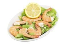 Fried Jumbo Shrimp Royalty Free Stock Photo