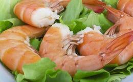 Fried Jumbo Shrimp Royalty Free Stock Photos