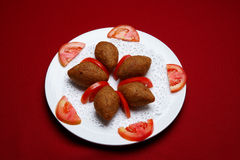 Fried Kebbe Royalty Free Stock Photography