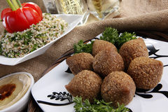 Fried kibbe Royalty Free Stock Photography
