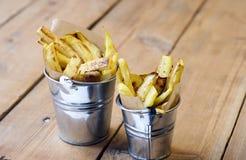 Fried kohlrabi Stock Photo