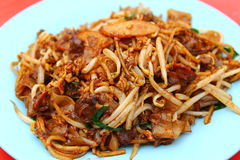 Fried kuey teow Stock Photos