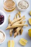 Fried ladyfish. Royalty Free Stock Image