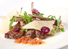 Fried lamb meat Royalty Free Stock Photography