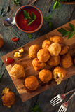 Fried Mac and Cheese Bites Royalty Free Stock Photography