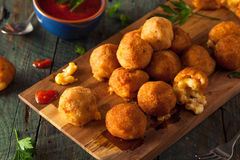 Fried Mac and Cheese Bites Stock Image