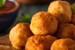 Fried Mac and Cheese Bites Royalty Free Stock Photo