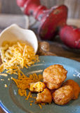 Fried Macaroni and Cheese Royalty Free Stock Image