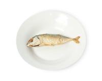 Fried Mackerel Royalty Free Stock Image
